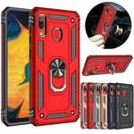 For Samsung Galaxy A11 A71 5G UW A21 Note 20 Ultra Phone Case Ring Holder Stand Cover