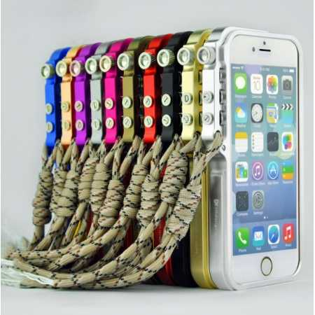 Fashion Cool Aluminum Metal Bumper Cases Cover For iPhone 6 6S 4.7inch